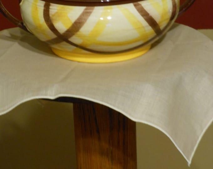 Organdie Two-Handled Serving Bowl
