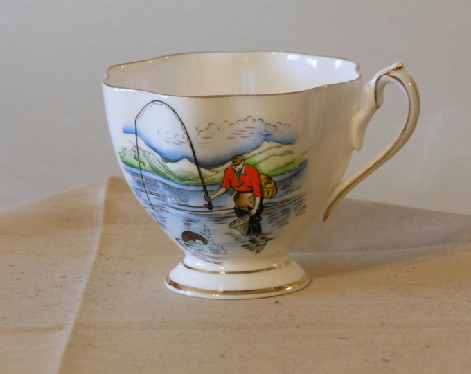 Queen Anne Teacup, Souvenir of New Brunswick