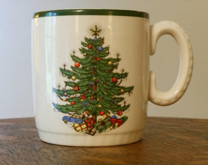 Cuthbertson Christmas Tree Mug