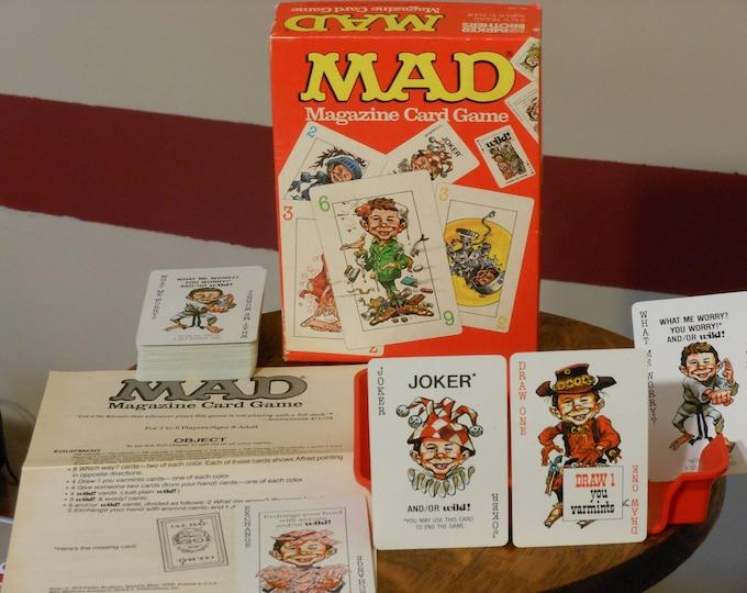 Vintage MAD Magazine Card Game