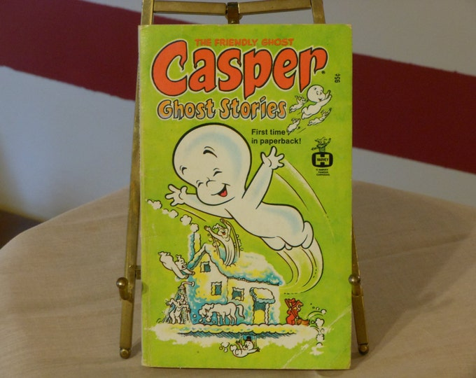 """Casper the Friendly Ghost """"Ghost Stories"""" Paperback Book (1973)"""