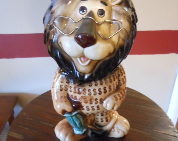 Old Hubert the Lion Bank