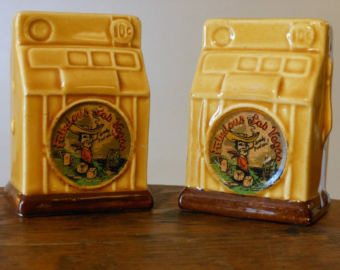 Las Vegas Vintage Slot Machine Salt & Pepper Shakers