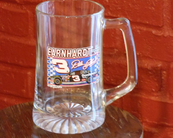 Dale Earnhardt 2000 Goodwrench Service Large Glass Mug