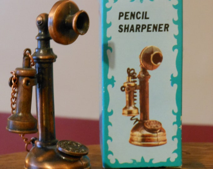 Old-Fashion Telephone Pencil Sharpener