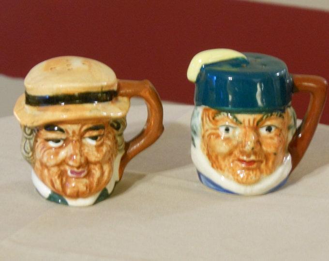 Toby Mug Salt & Pepper Shakers