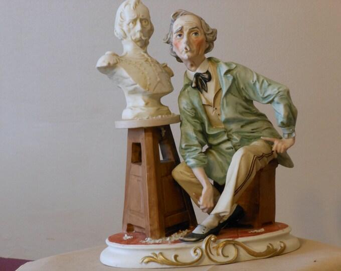 Large Sculptor Figurine