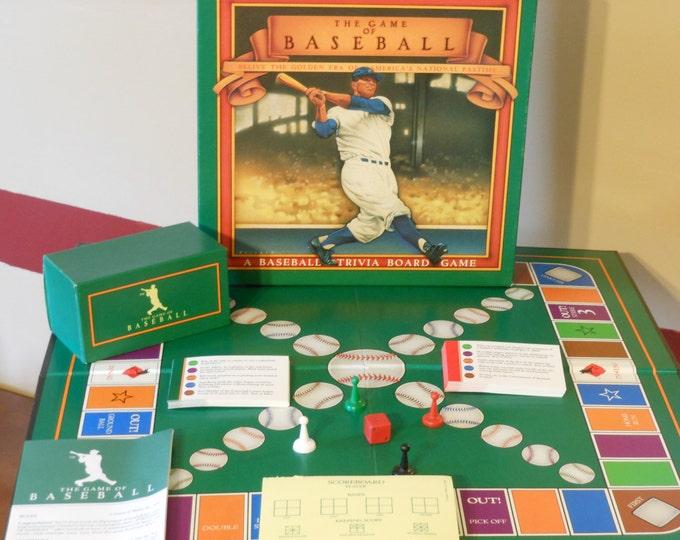 The Game of Baseball: A Baseball Trivia Board Game (1989)