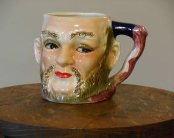 Vintage Face Mug/Pitcher