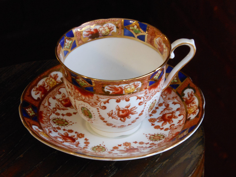 Royal Stuart teacup and saucer.