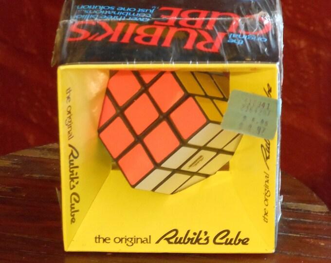 Original Rubik's Cube. Factory Sealed, Original Price Tag: 2164-2