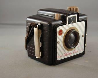Kodak Brownie Holiday Flash Camera, Canadian, 1950's