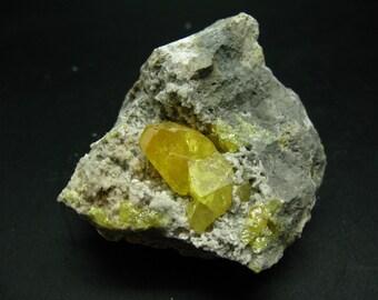 Cozzo Disi Mine Sicily 55.75 ct Italy Sulphur