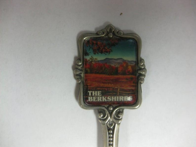 Collectible The Berkshires Silver Plated Souvenir Spoon