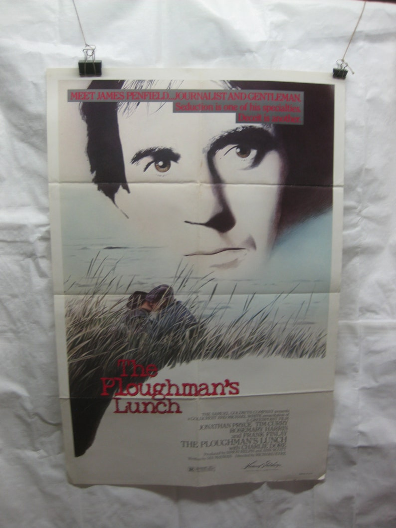 The Ploughman/'s Lunch 1984 Movie Poster mp034