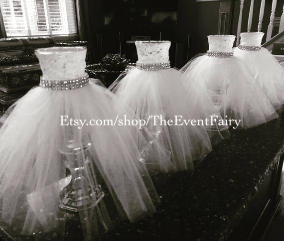 Centerpiece Wedding Dress Vase | Etsy
