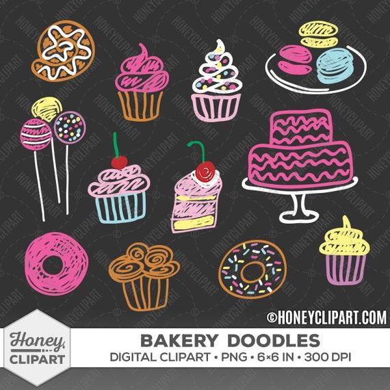 Kuchen Clipart Tafel Clipart Clipart Kuchen Bäckerei Etsy