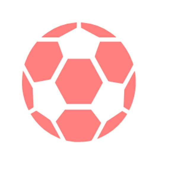 Soccer Stencil Soccer Ball Stencil Soccer Cookie Stencil