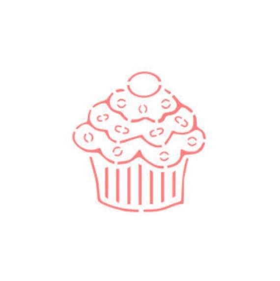 Kuchen Zu Malen Ihre Eigenen Cookie Schablone Cupcake Pyo Etsy