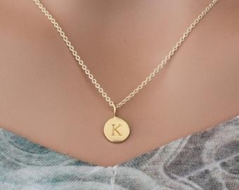 Letter k necklace   Etsy
