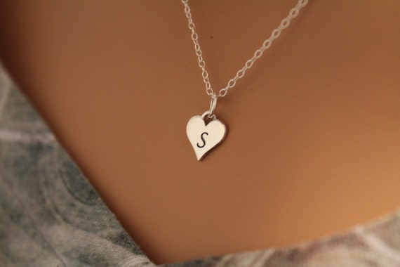 Cutout Heart Promise .925 Sterling Silver Open Small Stud Earrings