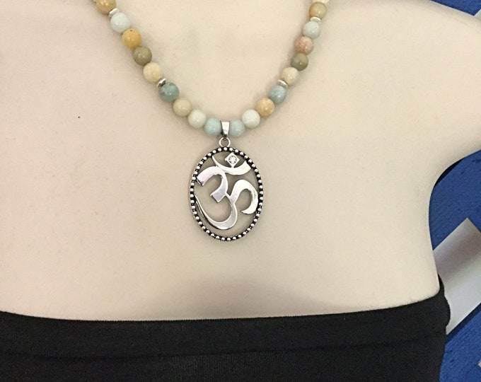Yoga Necklace Om/Aum Symbol Pendant Necklace, Yogi Jewelry