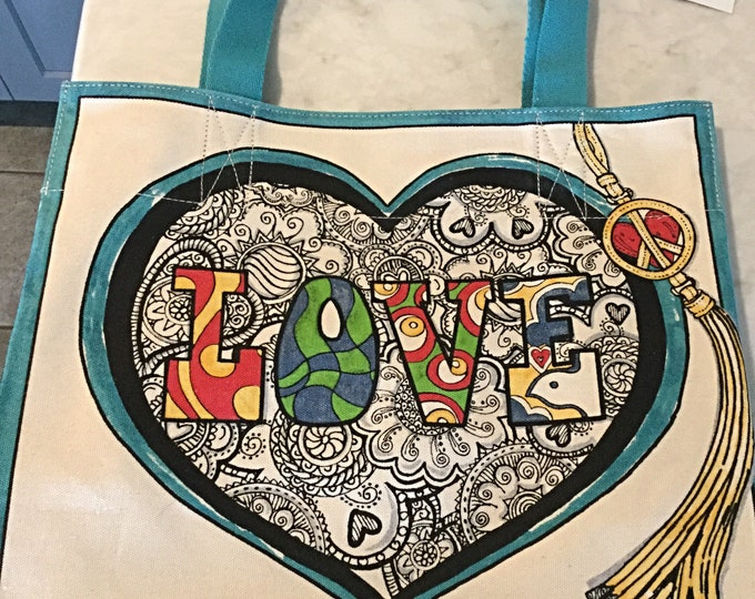 Brighton Tote, Summer of Love, Limited Edition