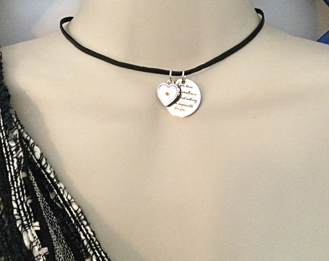 Religious Choker, Mustard Seed Necklace