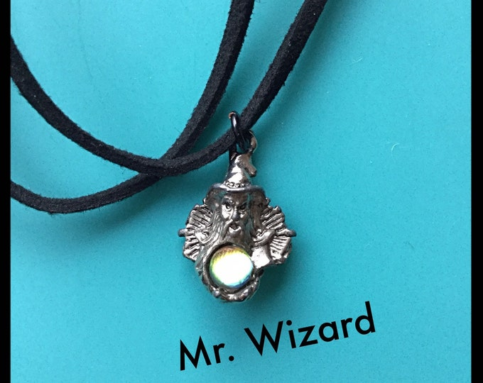 Mr. Wizard Chocker Necklace, Magician Necklace, Harry Potter lovers Gift Idea.