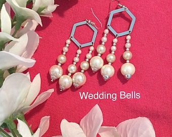 Wedding Earrings Elegant Special Occasion Pearls