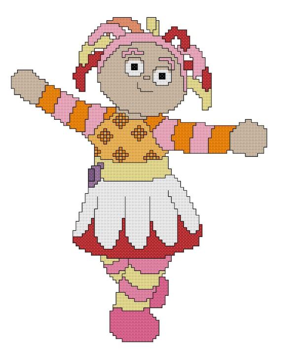 Upsy Daisy Cross Stitch Pattern | Etsy