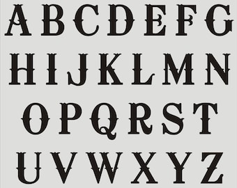 Z alphabet scroll italic type font lower case letters plastic sheet for craft greeting card making 1 high walls hobby 2 x A