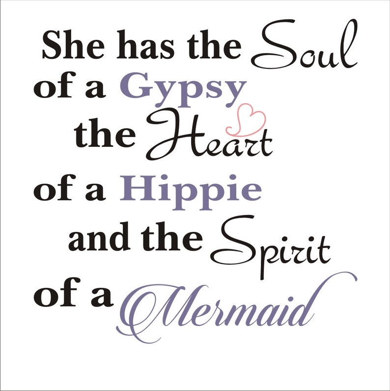 6526b7f54b4dd She has the SOUL of a Gypsy Mermaid Sign Reusable