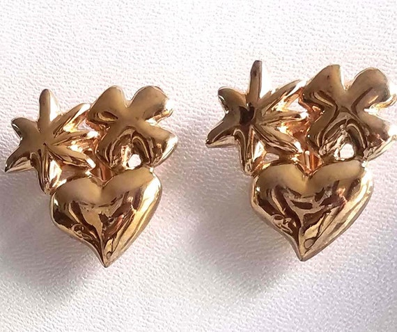 CHRISTIAN LACROIX vintage clip earrings - image 3