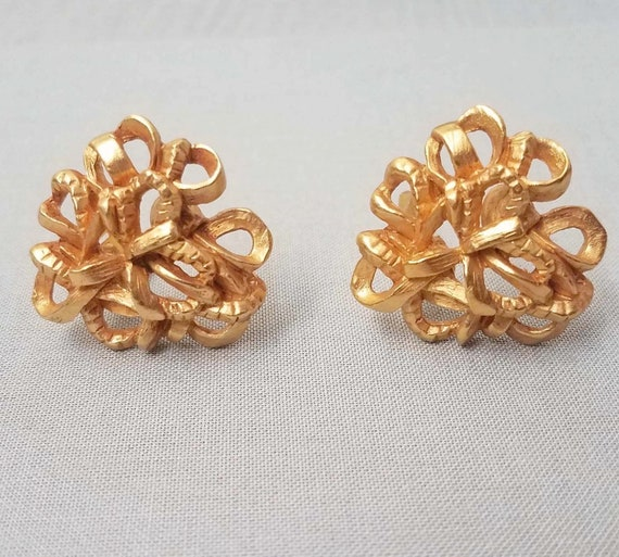 Elegant CHRISTIAN LACROIX earrings, clips - image 1
