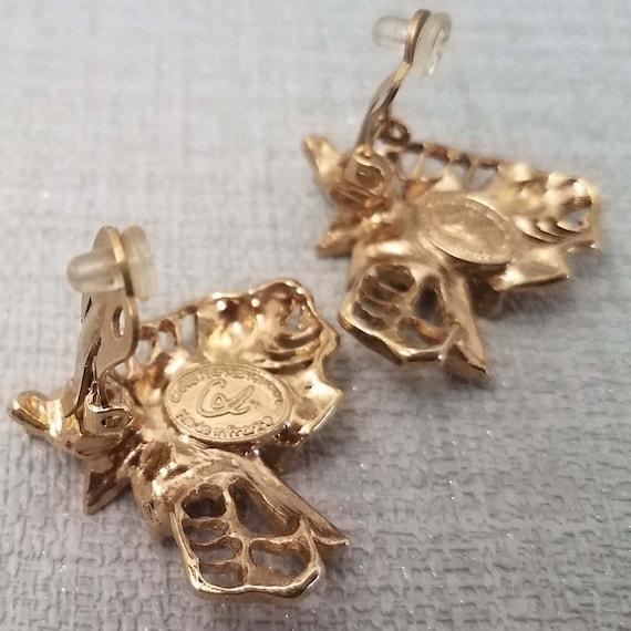 CHRISTIAN LACROIX vintage clip earrings - image 4