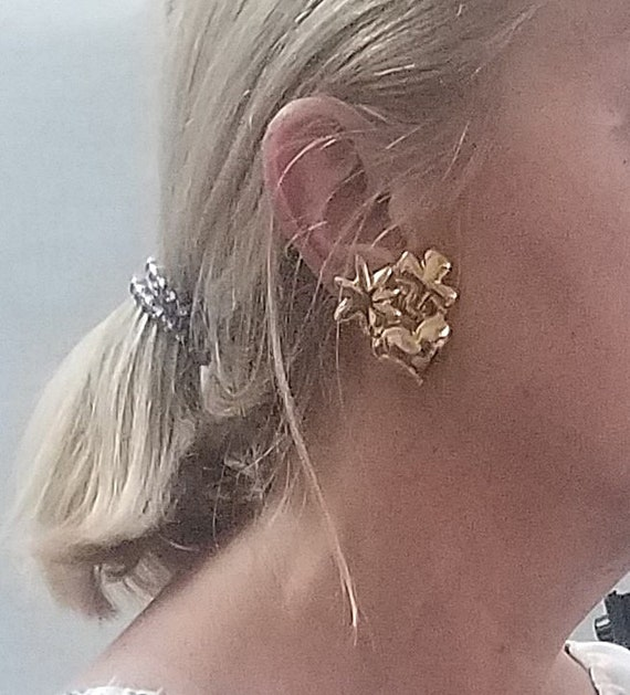 CHRISTIAN LACROIX vintage clip earrings - image 2
