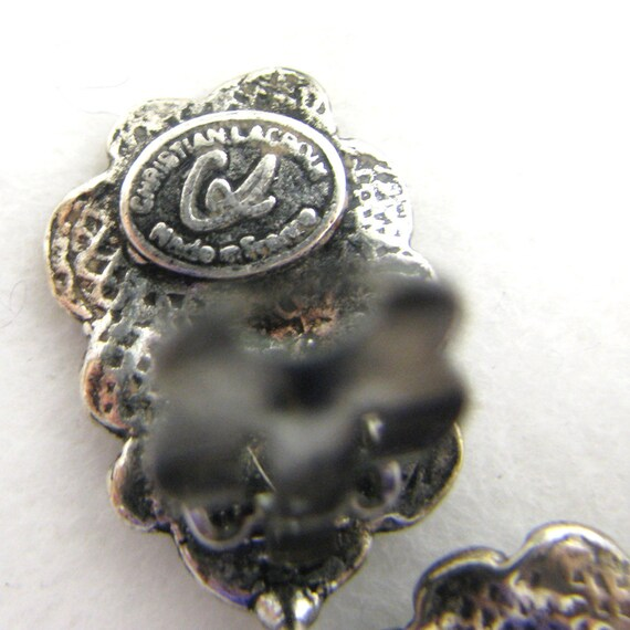 CHRISTIAN LACROIX earrings, vintage pendants - image 6
