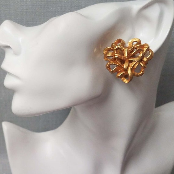 Elegant CHRISTIAN LACROIX earrings, clips - image 4