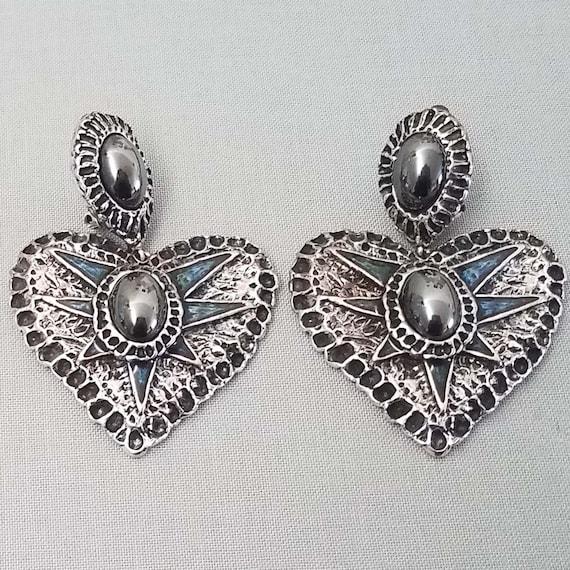 CHRISTIAN LACROIX earrings, vintage clips