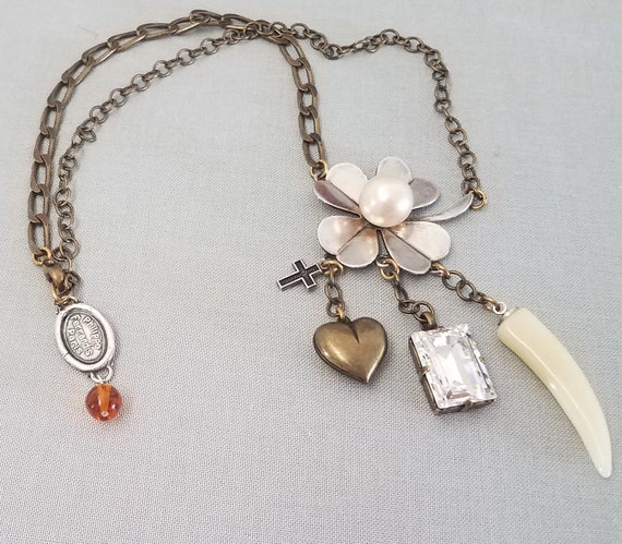 Refreshing philippe FERRANDIS necklace, with charm