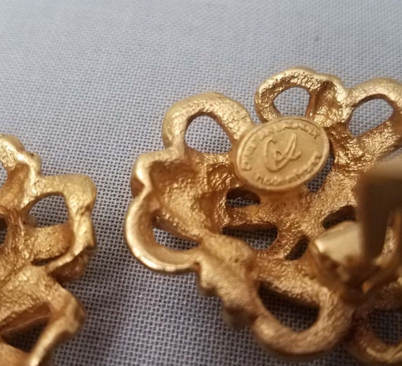 Elegant CHRISTIAN LACROIX earrings, clips - image 10