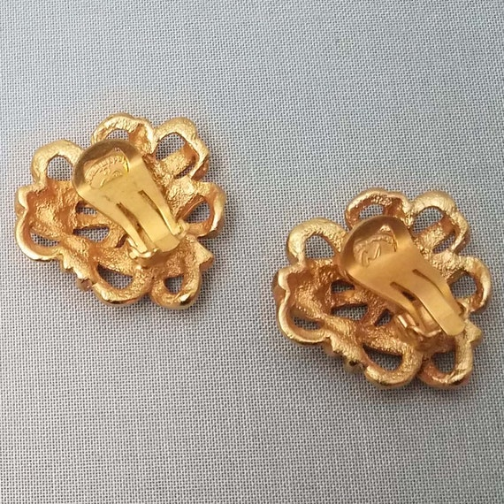 Elegant CHRISTIAN LACROIX earrings, clips - image 9