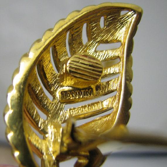 LANVIN earrings, vintage - image 5