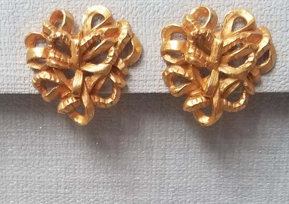 Elegant CHRISTIAN LACROIX earrings, clips - image 2