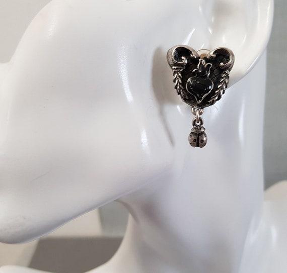 CHRISTIAN LACROIX earrings, enamelled - image 2