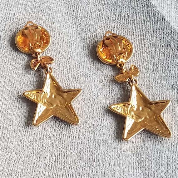 CHRISTIAN LACROIX earrings, vintage enamelled - image 6