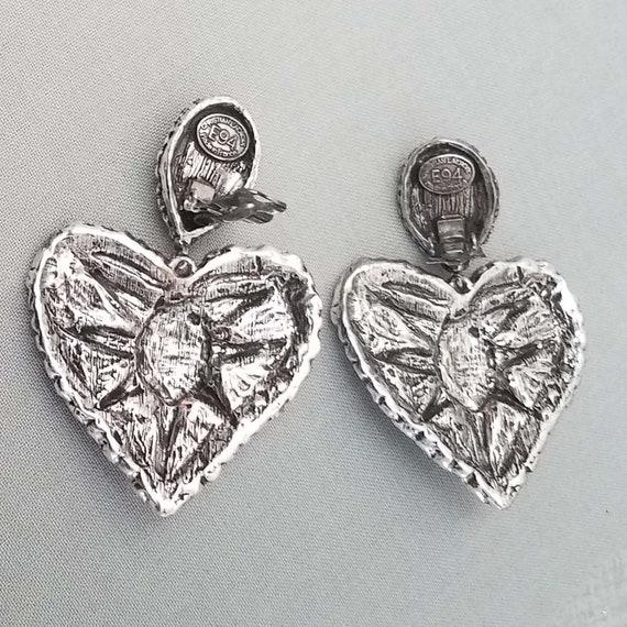 CHRISTIAN LACROIX earrings, vintage clips - image 7