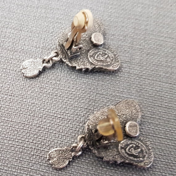 CHRISTIAN LACROIX earrings, enamelled - image 3