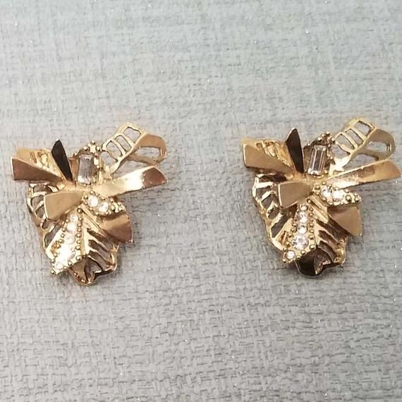 CHRISTIAN LACROIX vintage clip earrings - image 1